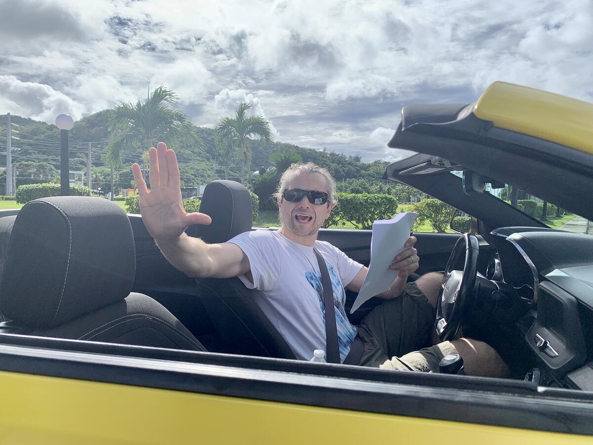 Filmlike Oy - kuvausmatka - Guam